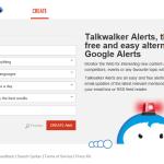 Talkwalker Alerts vám pomohou sledovat dění na internetu
