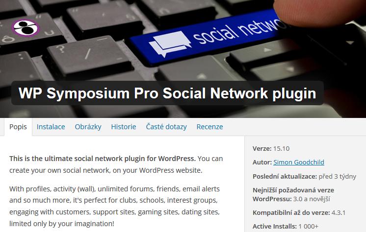 Je libo vlastní sociální síť jako Facebook? I to umí WordPress zařídit.